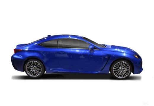 LEXUS RC I coupe boczny prawy