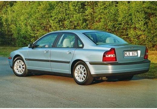 VOLVO S80 I sedan niebieski jasny tylny lewy