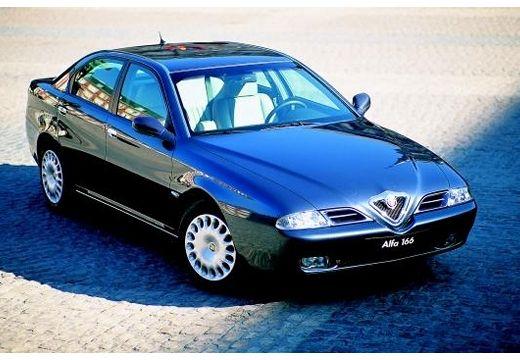 ALFA ROMEO 166 sedan niebieski jasny przedni prawy