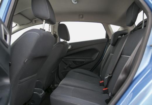 FORD Fiesta VII hatchback niebieski jasny wnętrze
