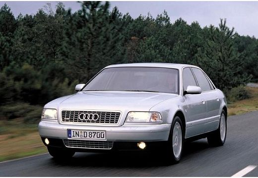AUDI A8 /S8 D2 sedan silver grey przedni lewy