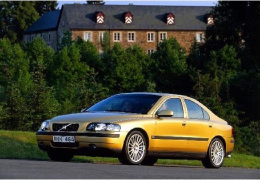VOLVO S60 I sedan złoty przedni lewy