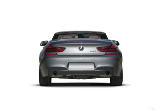 BMW 6 Серии кабриолет задний
