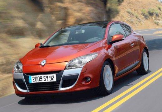 RENAULT Megane III Coupe I hatchback czerwony jasny przedni lewy