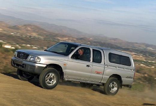 MAZDA B-seria pickup silver grey przedni lewy
