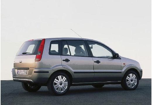 FORD Fusion hatchback silver grey tylny prawy