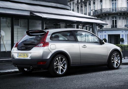 VOLVO C30 hatchback silver grey tylny prawy