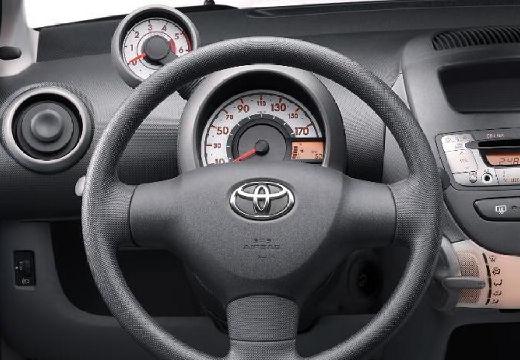 Toyota Aygo I hatchback tablica rozdzielcza
