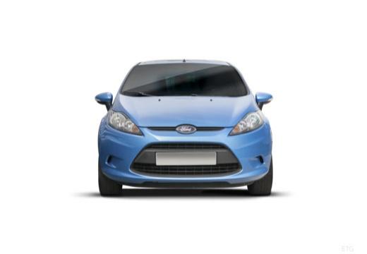 FORD Fiesta VII hatchback niebieski jasny przedni