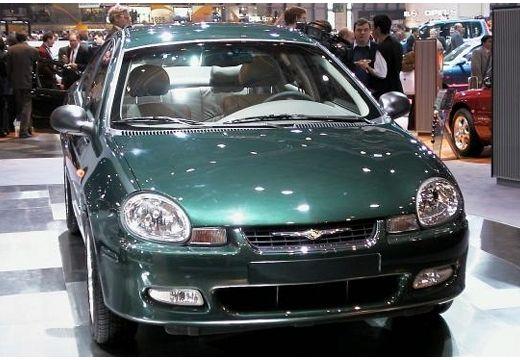 DODGE Neon sedan zielony przedni prawy