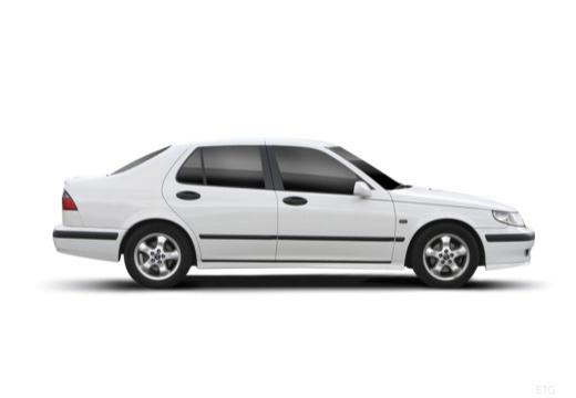 SAAB 9-5 II sedan boczny prawy