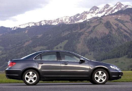 HONDA Legend sedan silver grey boczny prawy
