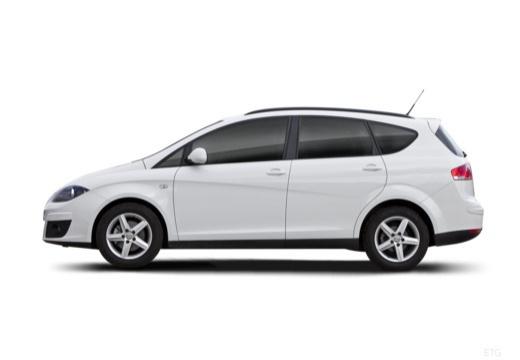 SEAT Altea XL II hatchback boczny lewy