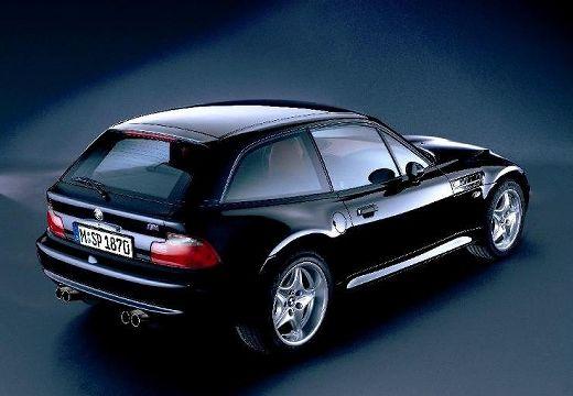BMW Z3 coupe czarny tylny prawy