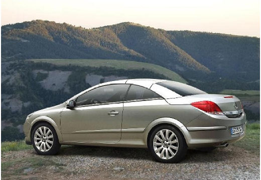 OPEL Astra kabriolet silver grey tylny lewy