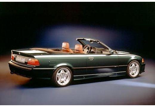 BMW Seria 3 Cabriolet E36 kabriolet zielony tylny prawy
