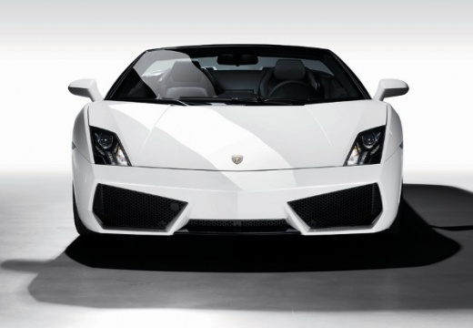 LAMBORGHINI Gallardo roadster biały przedni
