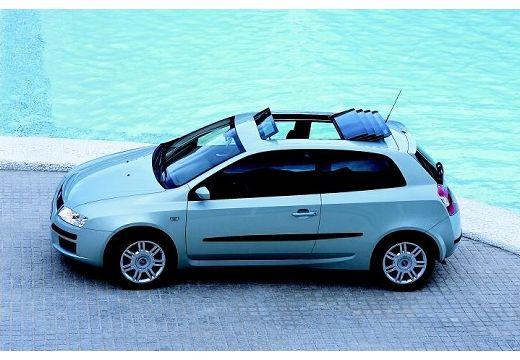 FIAT Stilo III hatchback silver grey boczny lewy