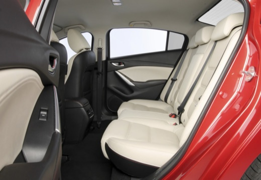 MAZDA 6 V sedan wnętrze