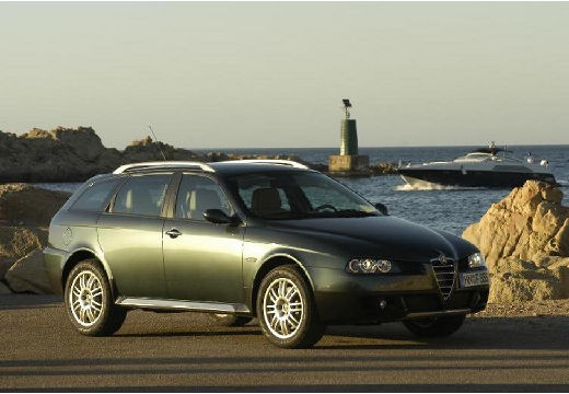 ALFA ROMEO 156 kombi zielony przedni prawy