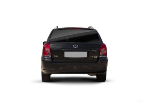 Toyota Avensis IV kombi czarny tylny