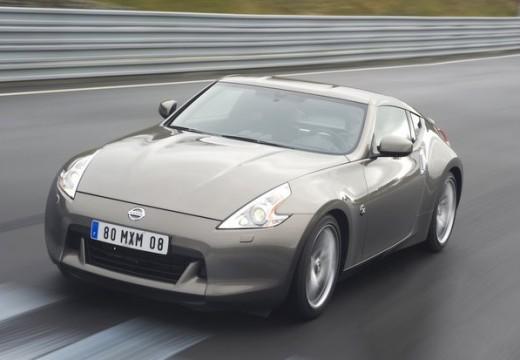 NISSAN 370 Z I coupe silver grey przedni lewy