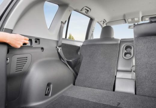 Toyota RAV4 VI kombi przestrzeń załadunkowa