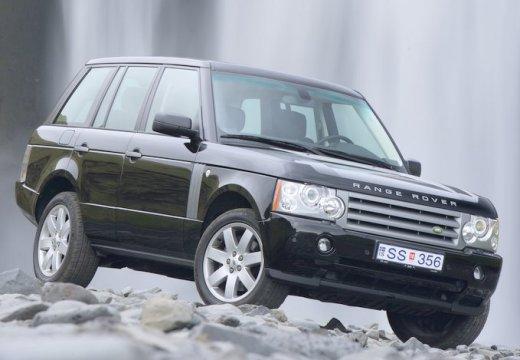 LAND ROVER Range Rover IV kombi czarny przedni prawy