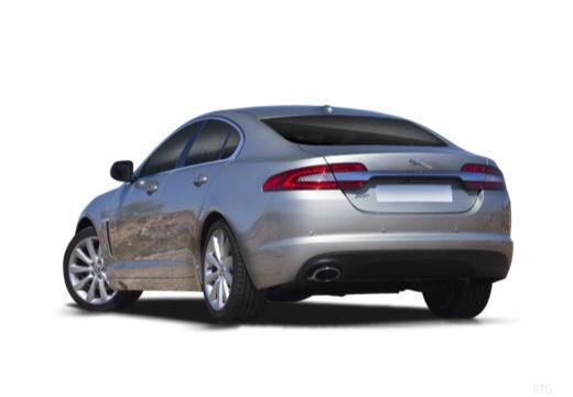 JAGUAR XF II sedan silver grey tylny lewy