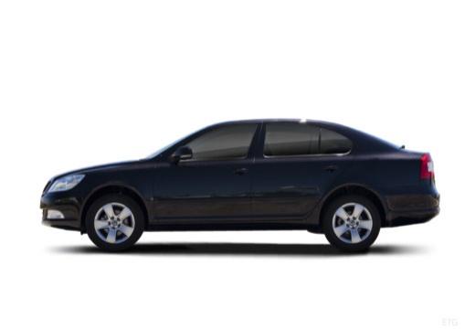 SKODA Octavia II II hatchback boczny lewy