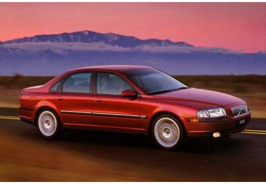 VOLVO S80 I sedan bordeaux (czerwony ciemny) przedni prawy