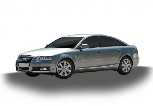 AUDI A6 4F II sedan silver grey