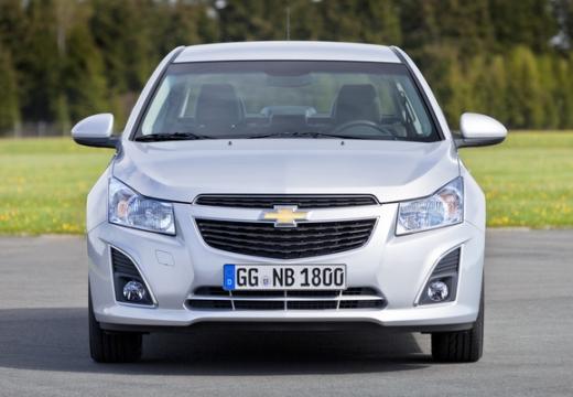 CHEVROLET Cruze II sedan silver grey przedni