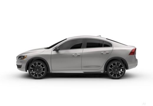 VOLVO S60 sedan boczny lewy