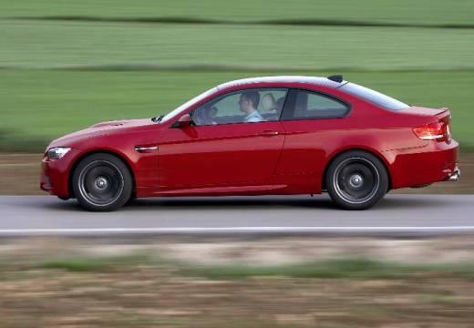 BMW Seria 3 E92 I coupe czerwony jasny boczny lewy