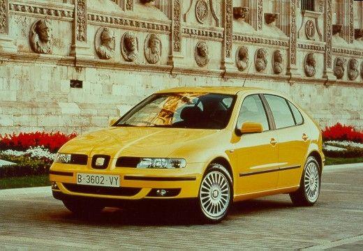 SEAT Leon I hatchback żółty przedni lewy