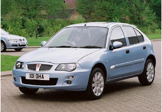 ROVER 25 hatchback niebieski jasny przedni lewy