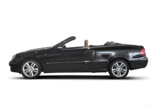 MERCEDES-BENZ Klasa CLK CLK Cabriolet A 209 II kabriolet boczny lewy