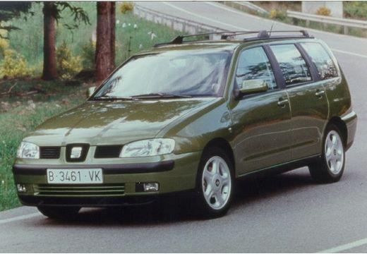 SEAT Cordoba Vario II kombi zielony przedni lewy