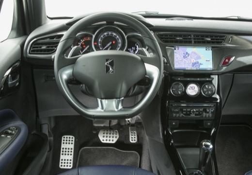 CITROEN DS3 Cabrio kabriolet czarny tablica rozdzielcza