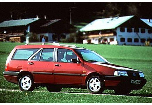 FIAT Tempra kombi czerwony jasny przedni prawy