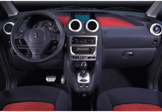 PEUGEOT 1007 I hatchback tablica rozdzielcza