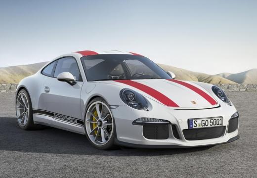 PORSCHE 911 991 I coupe biały przedni prawy