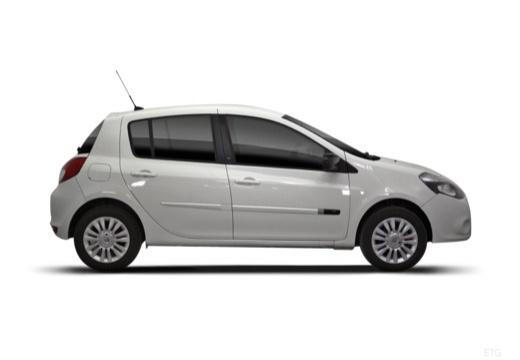 RENAULT Clio III II hatchback biały boczny prawy
