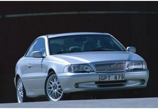 VOLVO C70 coupe silver grey przedni prawy