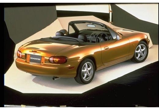 MAZDA MX-5 II roadster brązowy tylny prawy