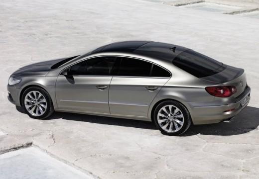 VOLKSWAGEN Passat CC sedan silver grey tylny lewy