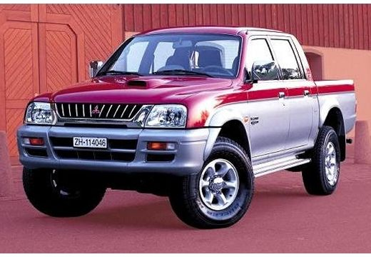 MITSUBISHI L 200 pickup fioletowy przedni lewy