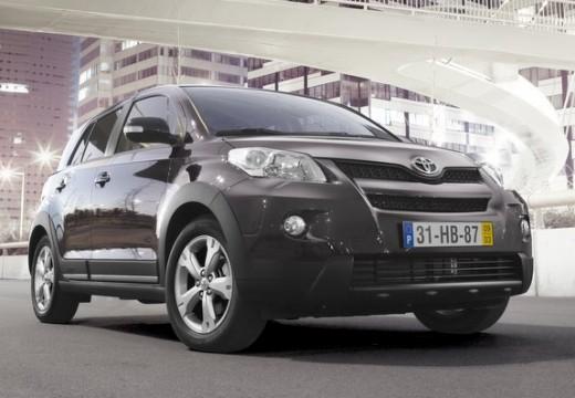 Toyota Urban Cruiser I hatchback fioletowy przedni prawy