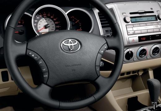 Toyota Tacoma III pickup tablica rozdzielcza
